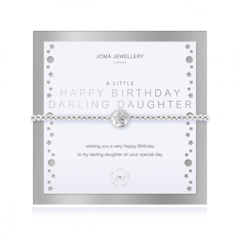 *NEW*    A LITTLE HAPPY BIRTHDAY DARLING DAUGHTER