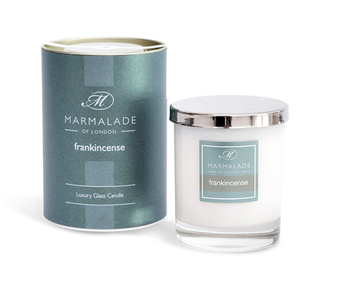 Frankincense Large Glass Candle
