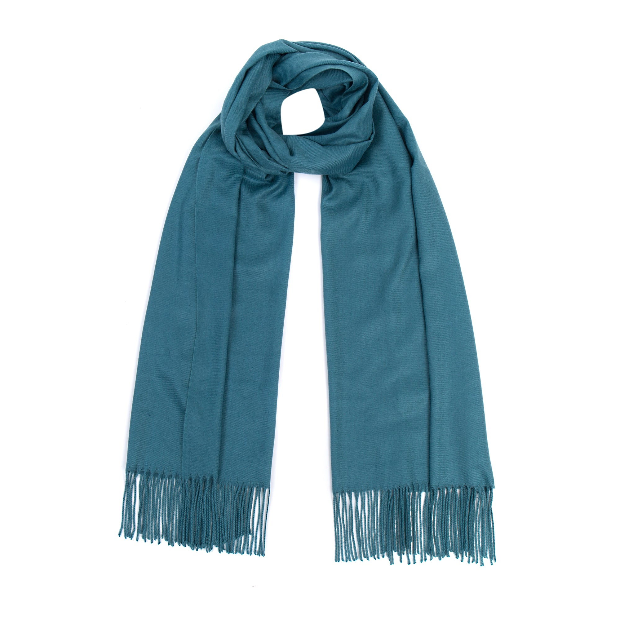 Luxury Super Soft Pashmina Scarf - Teal