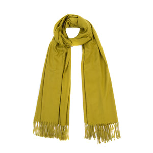 Luxury Super Soft Pashmina Scarf - Fresh Lime