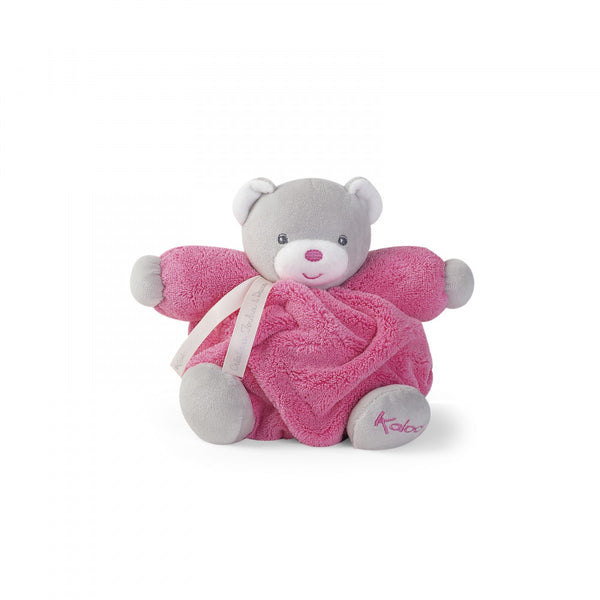 Chubby Bear Soft Toy Raspberry