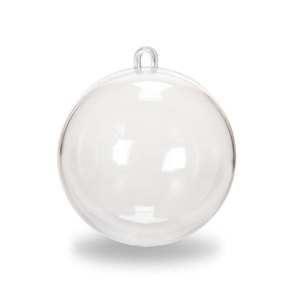 Ball Clear Fillable DIY - 80 mm