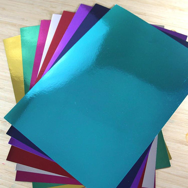 Joy Craft Mirror Cardstock bulk assorted colors 200 sheets