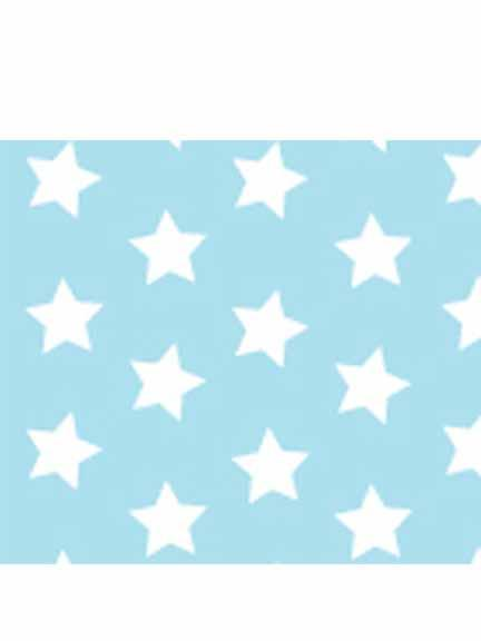 Parchment Paper Stars Light Blue