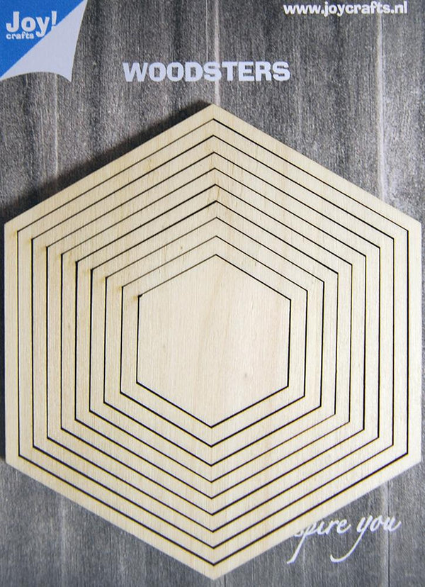 Joy! Crafts Woodsters - Hexagons