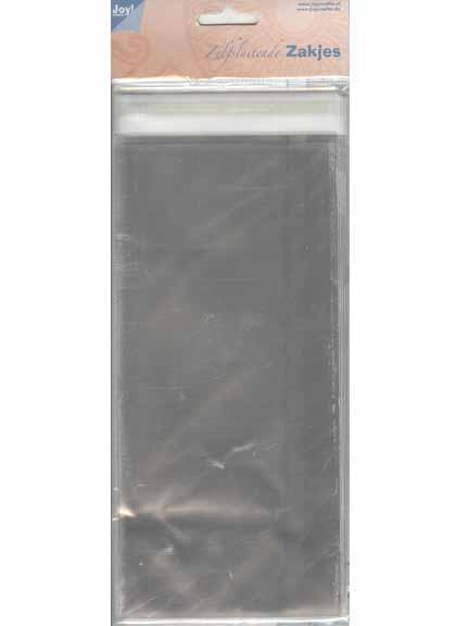 "Joy! Crafts Clear Bags 4.25"" x 9"""