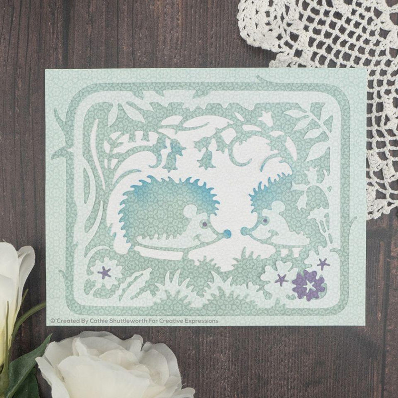 Creative Expressions Paper Cuts Hedgehog Hollow Craft Die