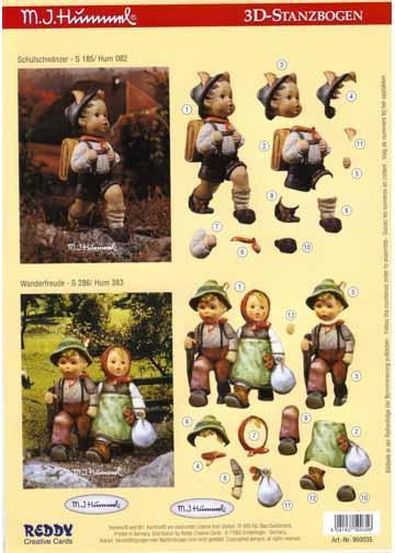 3D Precut Hummel - Children Walking