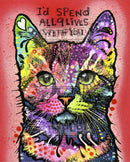 9 Lives Rubber Stamp Dean Russo