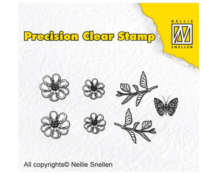 Precision Stamps - Anemone