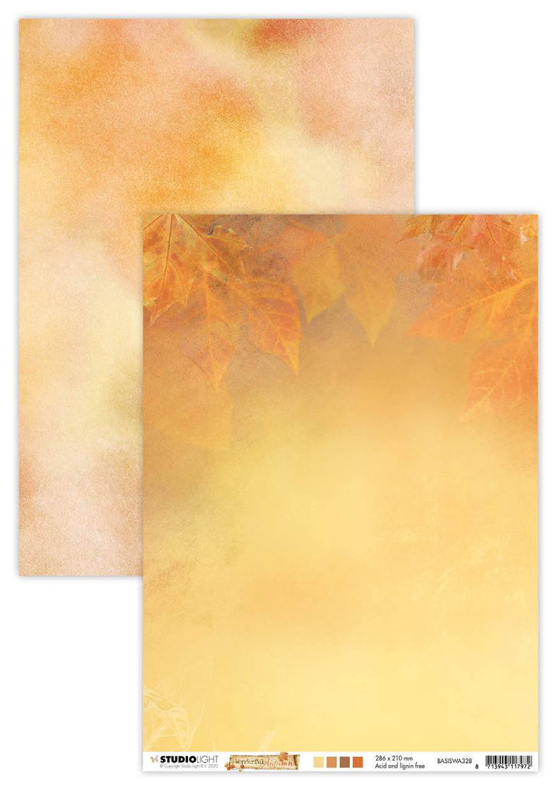 SL BG Paper 170gr Wonderful Autumn 210x297mm nr.328