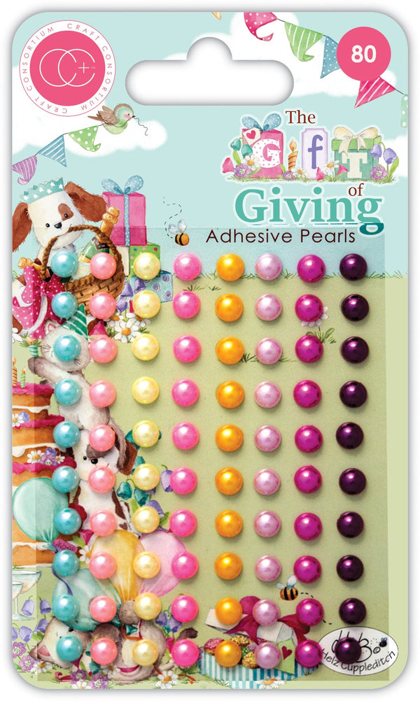 The Gift of Giving Adhesive Pearls