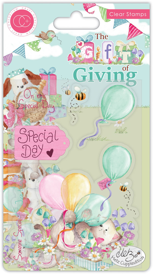 The Gift of Giving Stamp Set - Special Day