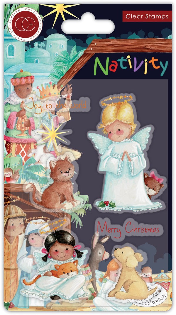 Nativity Stamp Set - Angels