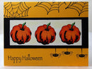 Frog's Whiskers Ink Stamp - Abstract Pumpkin