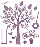 Finishing Touches Collection Family Tree Die