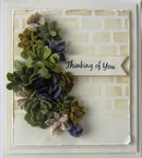 Finishing Touches Collection Succulent Garden Die