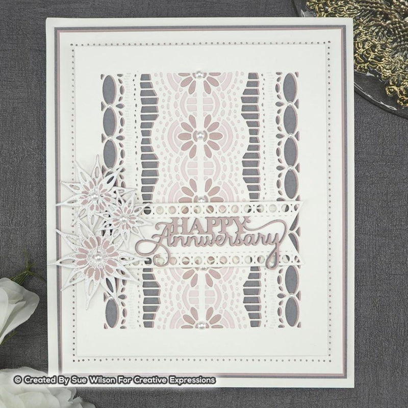 Dies by Sue Wilson Finishing Touches Collection Jasmine