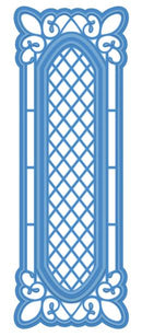 Striplet Collection Lattice Window Die