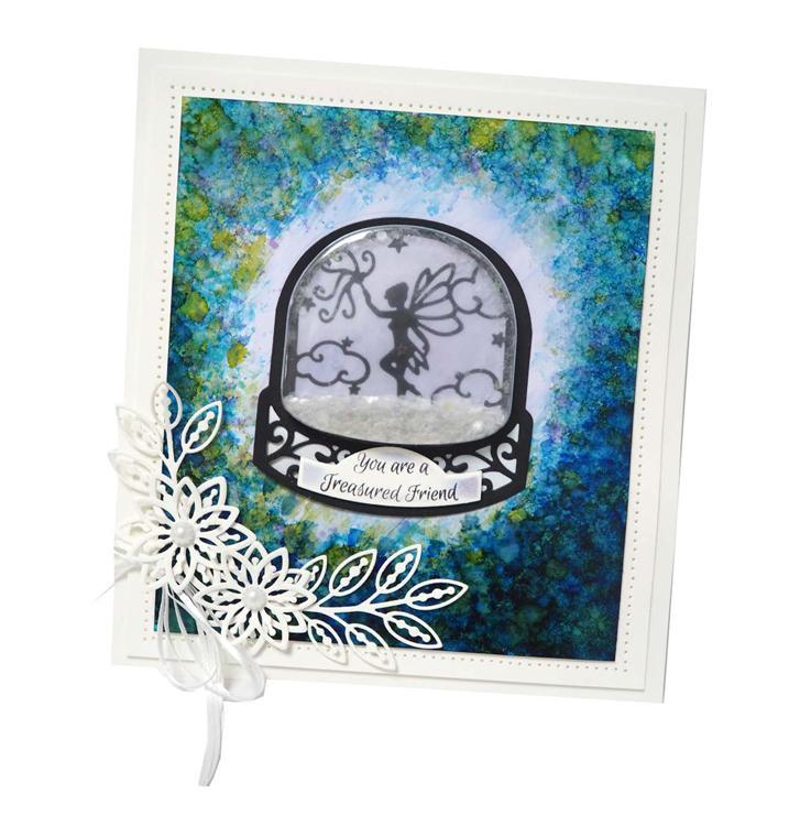 Fillables Collection Fairy Snow Globe Scene Die