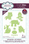 Dies by Sue Wilson Necessities Collection Zoo Animals