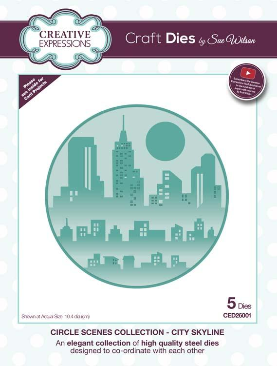 Circle Scenes Collection City Skyline Die