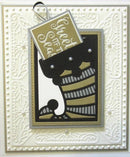 Festive Collection Stocking Gift Card Holder
