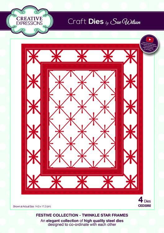 Festive Collection Twinkle Star Frames
