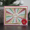 Dies by Sue Wilson Festive Mosaic Ray Background
