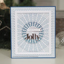 Dies by Sue Wilson Festive Deco Snowflake Background