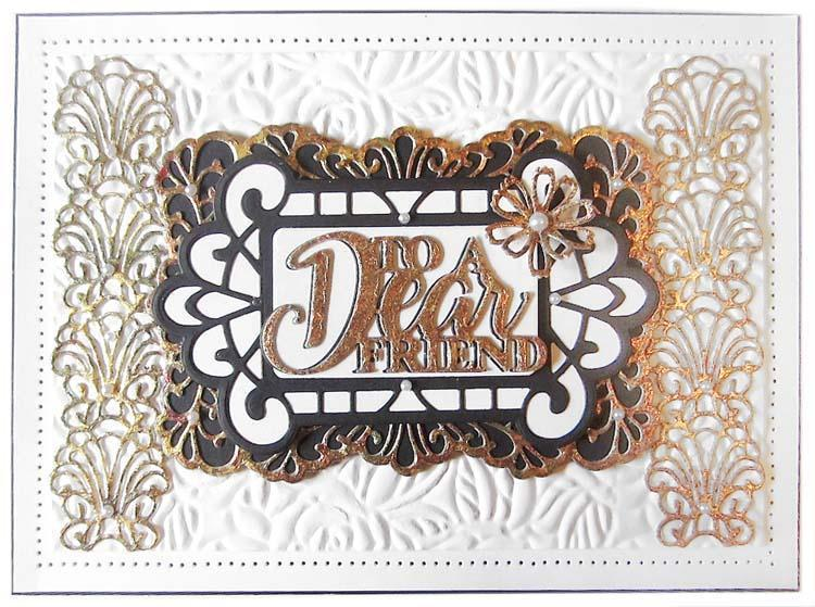 Dies by Sue Wilson Frames and Tags Priscilla's Border