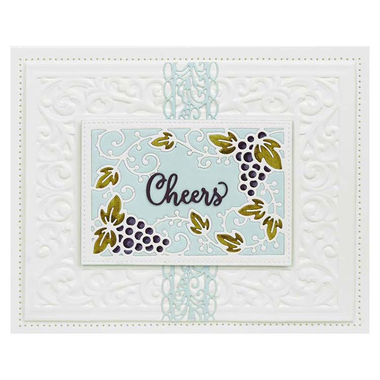 Dies by Sue Wilson Frames & Tags Collection Stella's Border