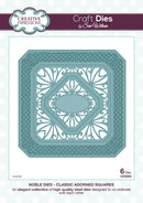 Sue Wilson Dies - Noble Collection  - Classic Adorned Squares