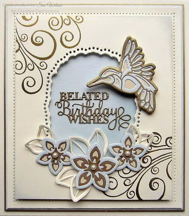 Creative Expressions Dies by Sue Wilson Background Collection Herringbone
