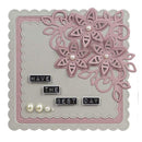 Creative Expressions Cut and Lift Collection Star Flower Set  Craft Die