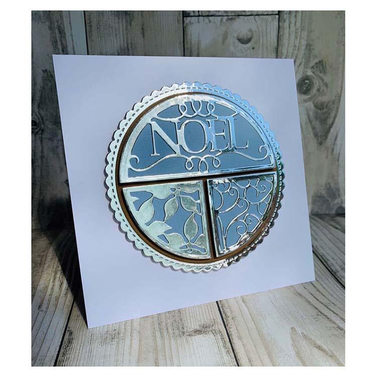 Creative Expressions Split Circles Noel Craft Die
