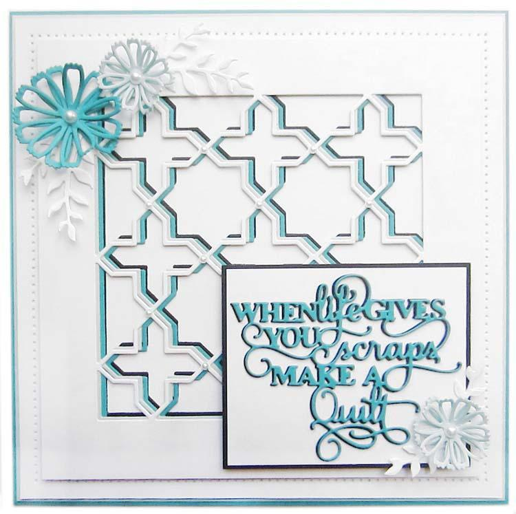 Dies by Sue Wilson Mini Expressions Collection When Life Gives You Scraps