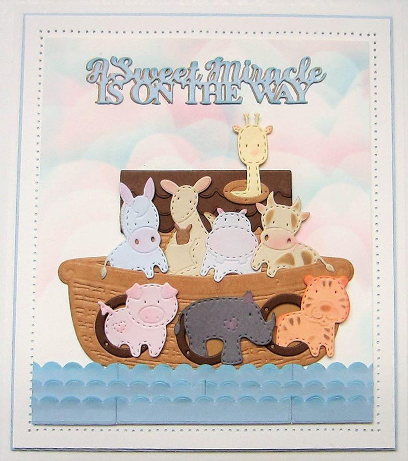 Dies by Sue Wilson Necessities Collection Noah's Ark