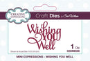 Dies by Sue Wilson Mini Expressions Collection Wishing You Well