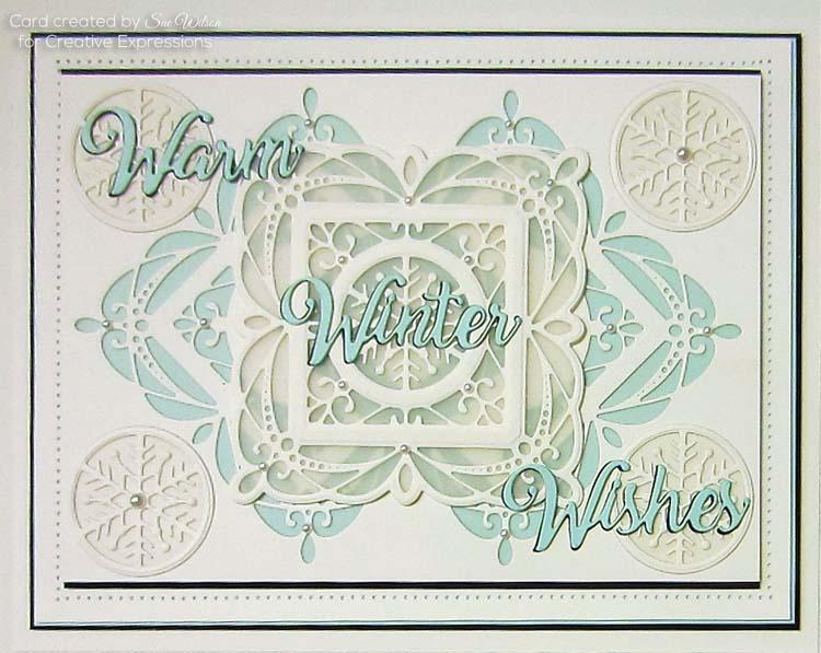 Noble Expressions  Winter Wishes Craft Die