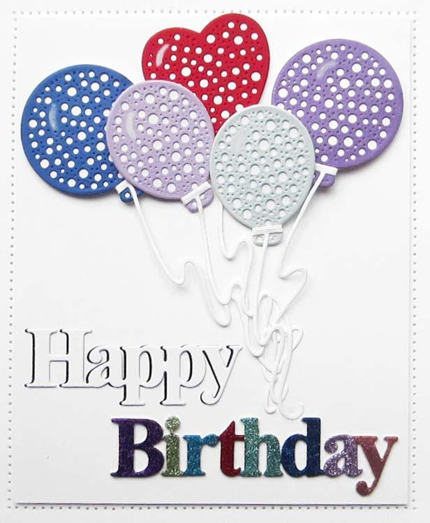 Dies by Sue Wilson Noble Expressions Collection Happy Birthday Craft Die