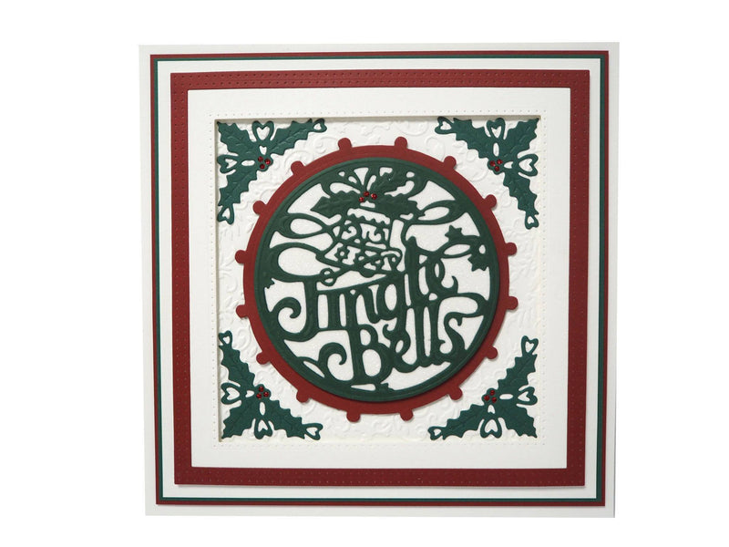 Creative Expressions Die Paper Cuts Collection - Jingle Bells