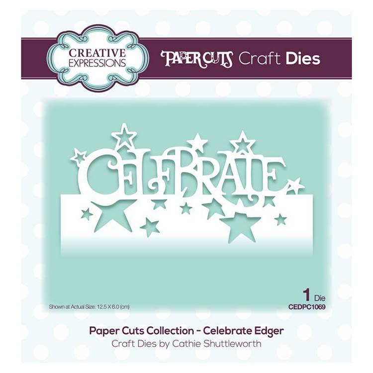 Creative Expressions Paper Cuts Collection - Celebrate Edger