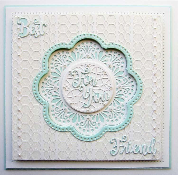 Creative Expressions Mini Shadowed Sentiments Best Friend