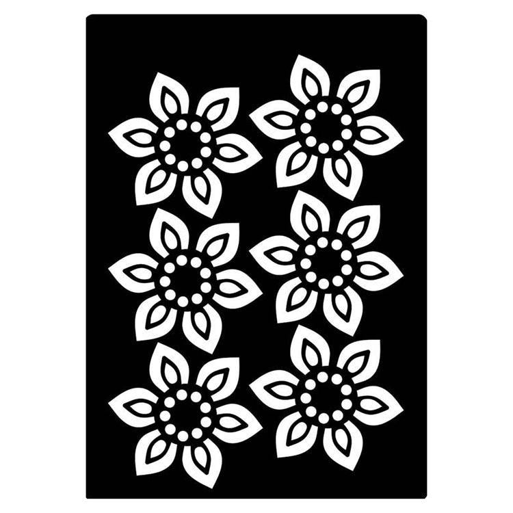 Creative Expressions Mini Stencil Beaded Flower