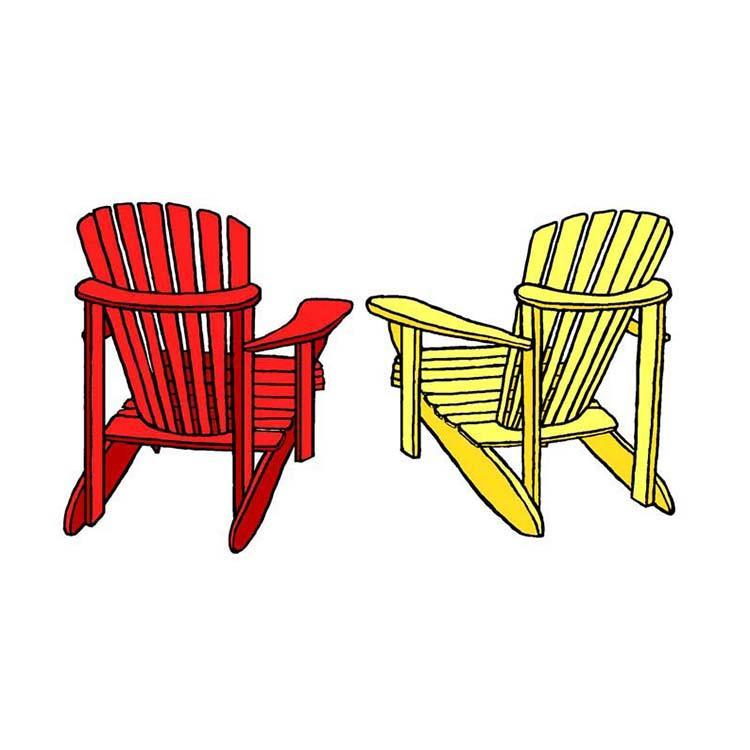 Frog's Whiskers Ink Stamp - Muskoka Chairs