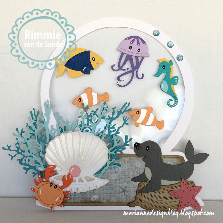 Marianne Designs: Collectables Eline's Seagull & friends