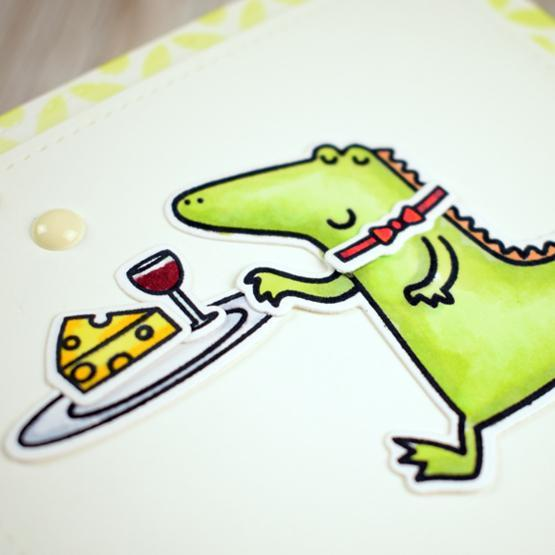 Happy Snappy Crocs Stamps