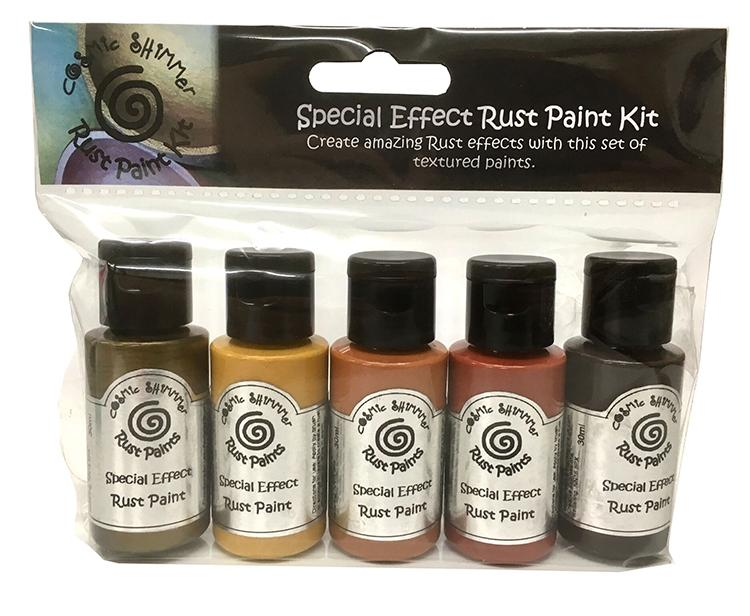 Cosmic Shimmer Special Effects Paint Kit - Rust
