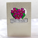 Baroque Border Sentiments -A5 Clear Stamp Set